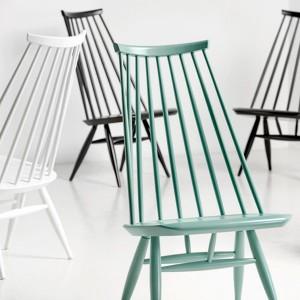 colección Lounge chair Mademoiselle lacada de Artek