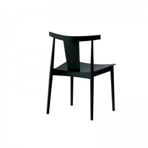 comprar silla Smile SI-0325 Andreu World roble lacado negro