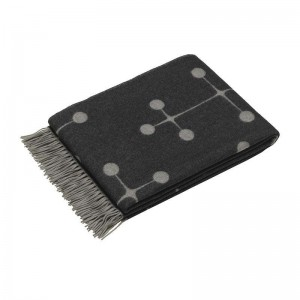 Eames Wool Blanket Black - Vitra