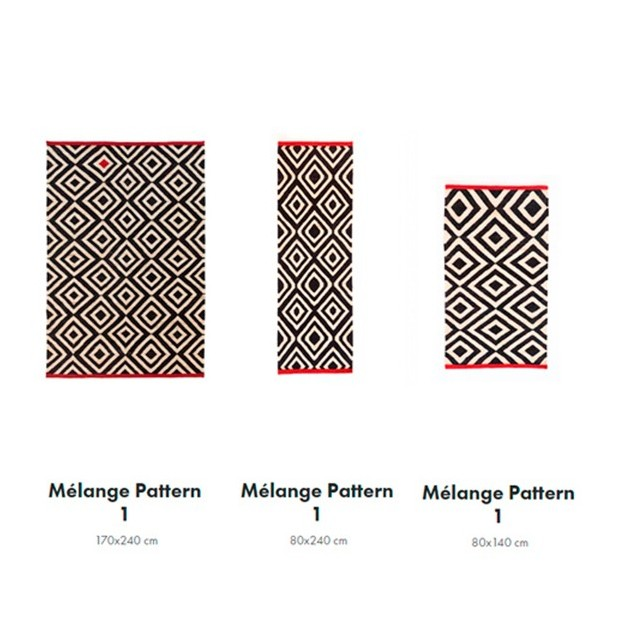 dimensiones Alfombra Melange Pattern 1 Nanimarquina