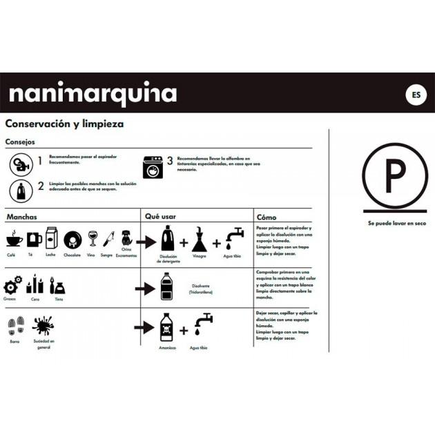 cuidados Alfombra Mélange Pattern 2 Nanimarquina