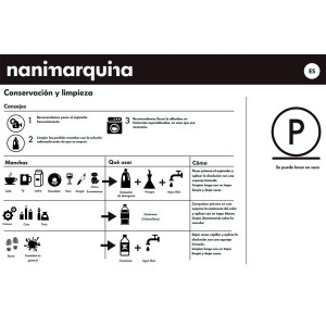 cuidado Alfombra Mélange Pattern 5 Nanimarquina