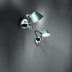 ambiente Aplique de pared Tolomeo Micro aluminio Artemide