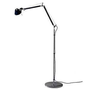 lámpara de pie Tolomeo negra Artemide