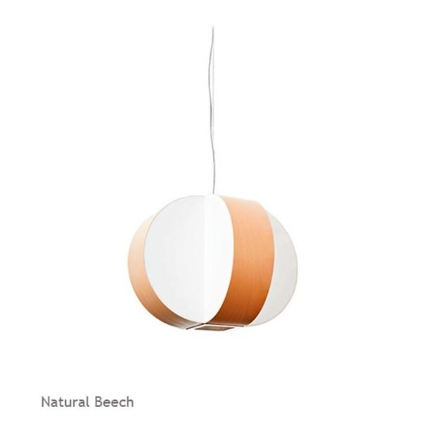 Lámpara Luzifer Carambola SM color natural beech