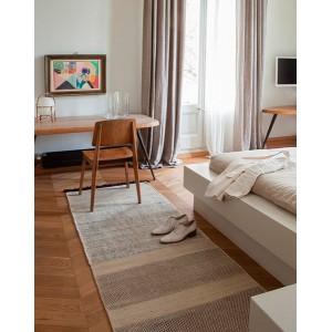 habitación alfombra tres stripes negro