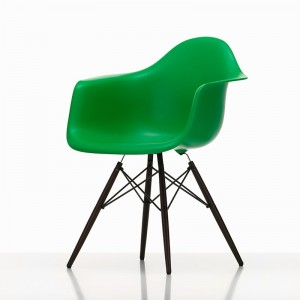 Eames Plastic ArmChair DAW verde - Vitra