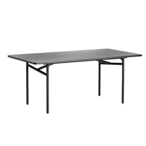 Diagonal dinning table Negro - Woud