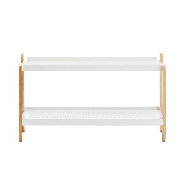 comprar Zapatero Sko Rack en color blanco y roble de Normann copenhagen. disponible en Moisés showroom