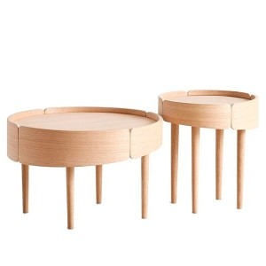 Skirt coffe table - Woud