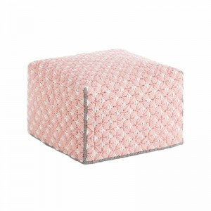 Silaï Small Pouf Rose - Gan Rugs
