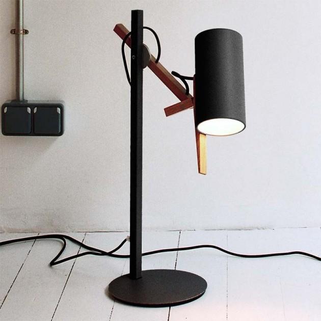 ambiente lámpara de sobremesa Scantling S Marset negra