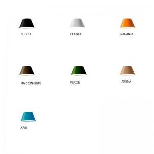 colores Lámpara de suspensión TamTam 4 Marset