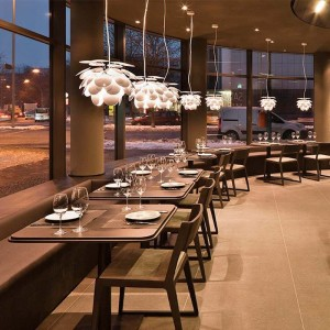 restaurante lámparas suspensión Discocó 35 Marset