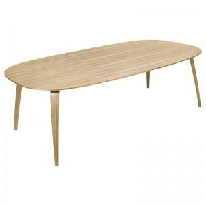GUBI Dining Table Wood Elliptical