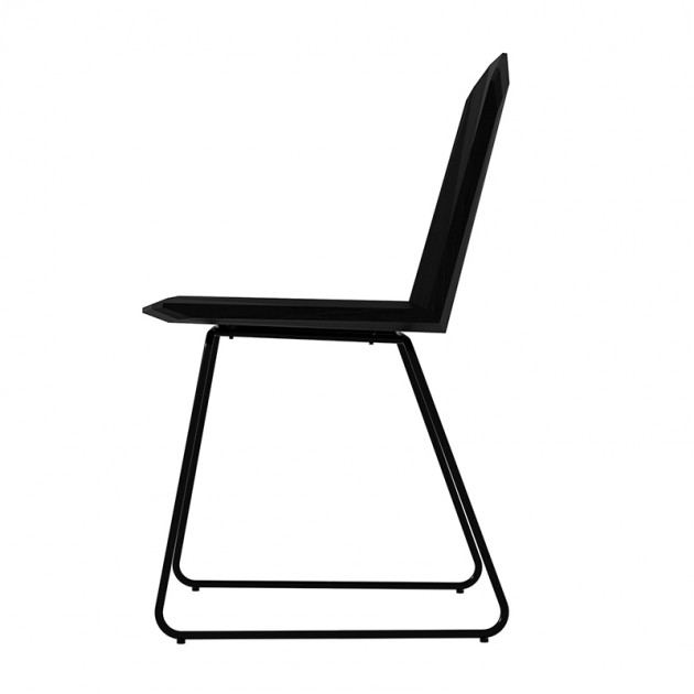 Silla Facette roble negro Ethnicraft
