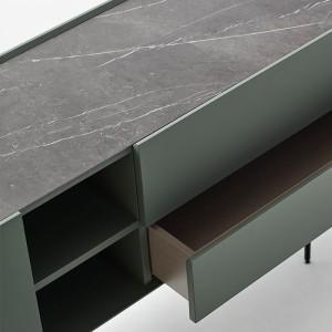 Aparador Heritage de Carmenes Lacado Verde grisáceo