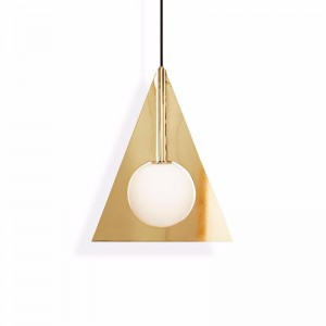 Tom Dixon Lámpara Plane Triangle Pendant