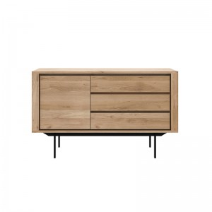 Aparador Shadow Roble 1 puerta 3 cajones - Ethnicraft en Moises Showroom