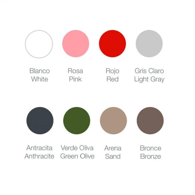 Mesa Tumbona 356 Diabla colores