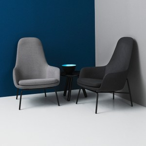 Butaca Era High de Normann Copenhagen en Moises Showroom