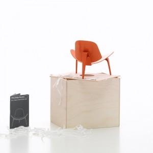 Miniatura 3-benet skalstool Vitra