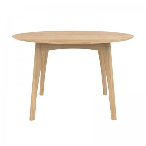 Mesa Osso Round Roble stock Ethnicraft