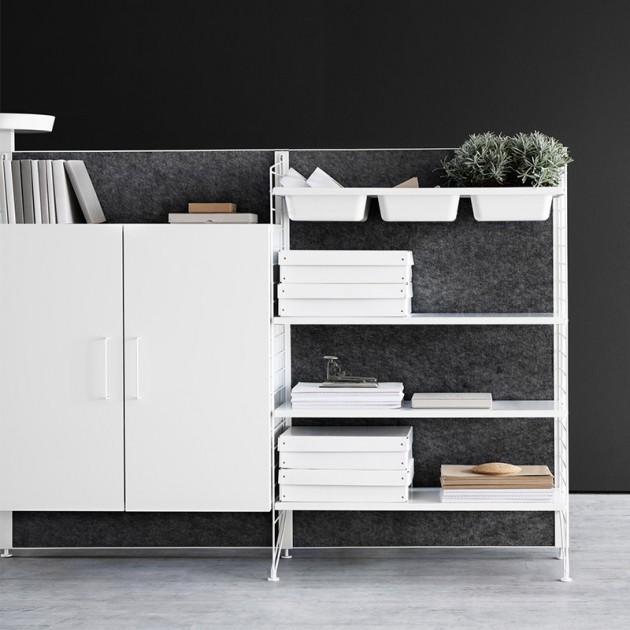 String system: filing cabinet