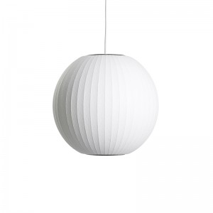 Lámpara de techo Nelson Ball bubble pendant de HAY en Moises Showroom