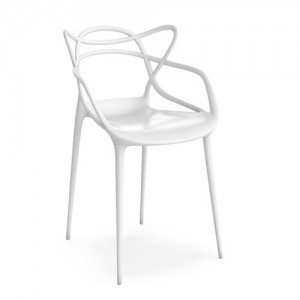 Silla Masters (4 unidades) - Kartell