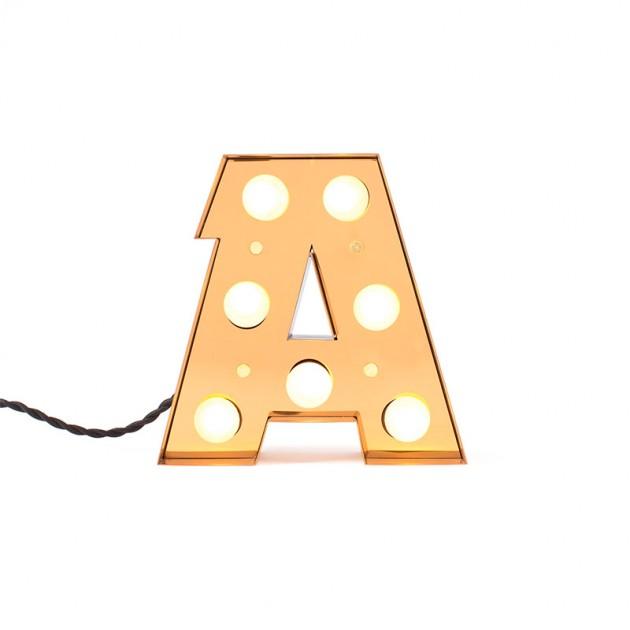 Alfabeto Caractére LED Seletti