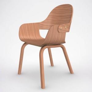 silla Showtime Nude diseñada por Jaime Hayon para Bd Barcelona en Moises Showroom