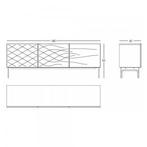 Couture Cabinet de BD Barcelona en Moises Showroom