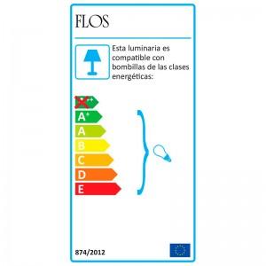 Lámpara IC T1 High Flos etiqueta energética