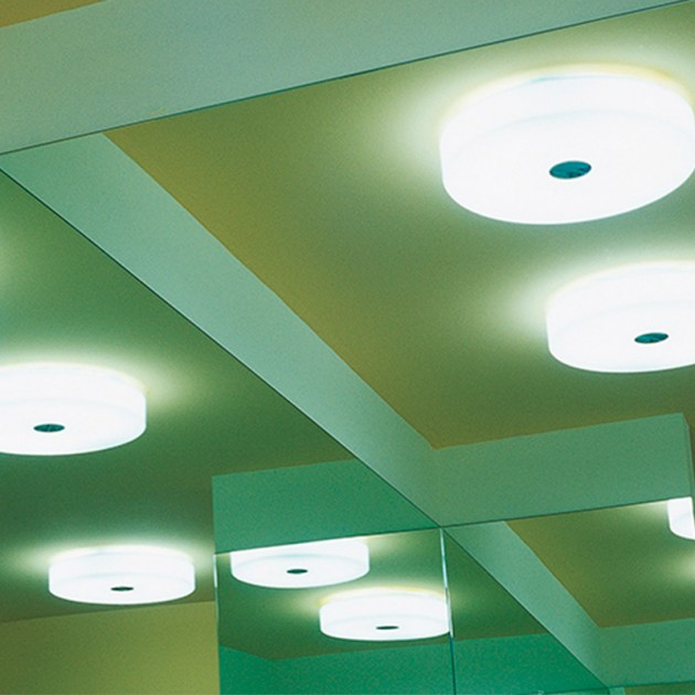 Lámpara Button aplique pared techo Flos