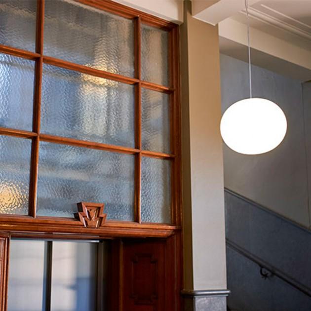 Lámpara Glo-Ball S 1 suspensión Flos