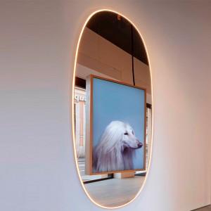 Espejo La Plus Belle con luz Flos