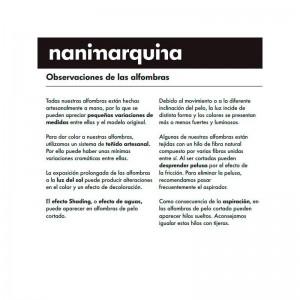 observaciones Alfombra Kala Nanimarquina