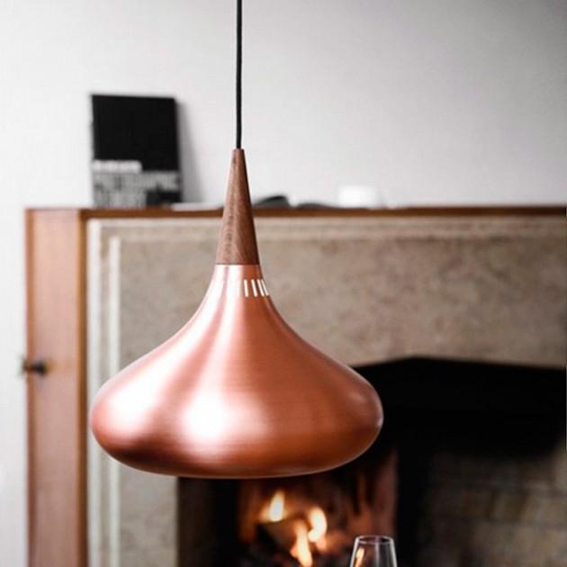 Lámpara de suspensión Orient P1 marca Fritz Hansen en detalle