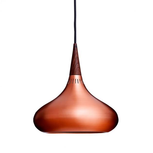 Lámpara de suspensión Orient P1 marca Fritz Hansen copper