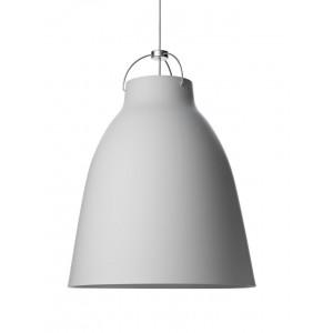 Lámpara suspensión Caravaggio Matt P4 color gris claro Fritz Hansen