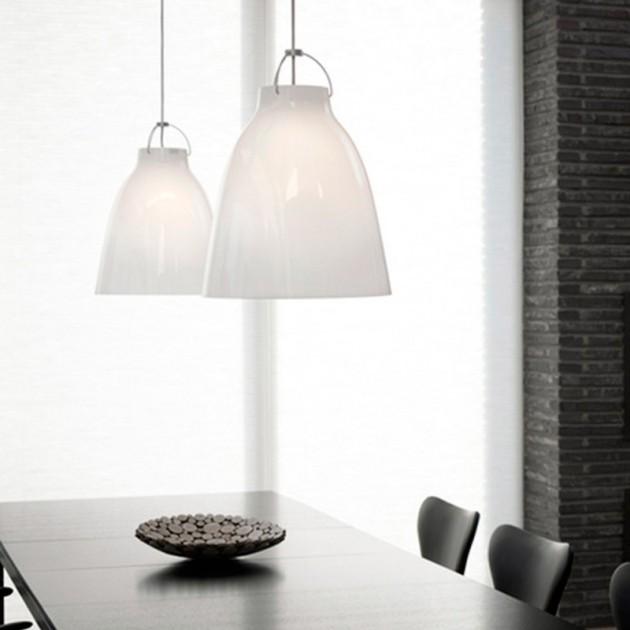 Ambiente con Lámparas Caravaggio Opal Fritz Hansen