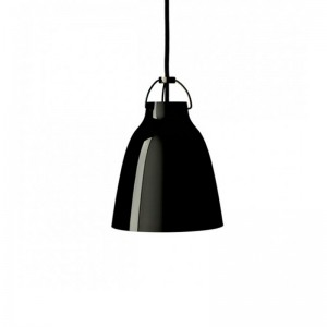 Lámpara Caravaggio P0 Blackblack Fritz Hansen