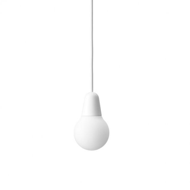 Lámpara Bulb color blanco Fritz Hansen