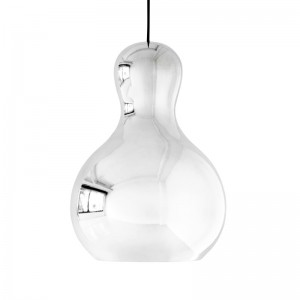 Lámpara Calabash P3 plata Fritz Hansen