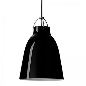 Lámpara Caravaggio P3 BlackBlack de Fritz Hansen