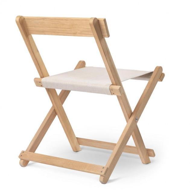 respaldo Silla de comedor BM4570 madera de teca de carl Hansen. Disponible en Moisés showroom