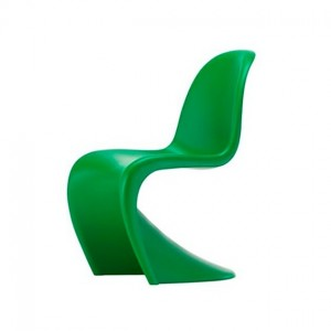 Outlet de Vitra en Moises Showroom , silla Panton Color Summer Green