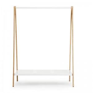 Burra Toj Clothes Rack grande en fresno y acero color blanco de Normann Copenhagen