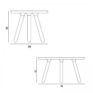 Dimensiones colección mesas Tablo de Normann copenhagen